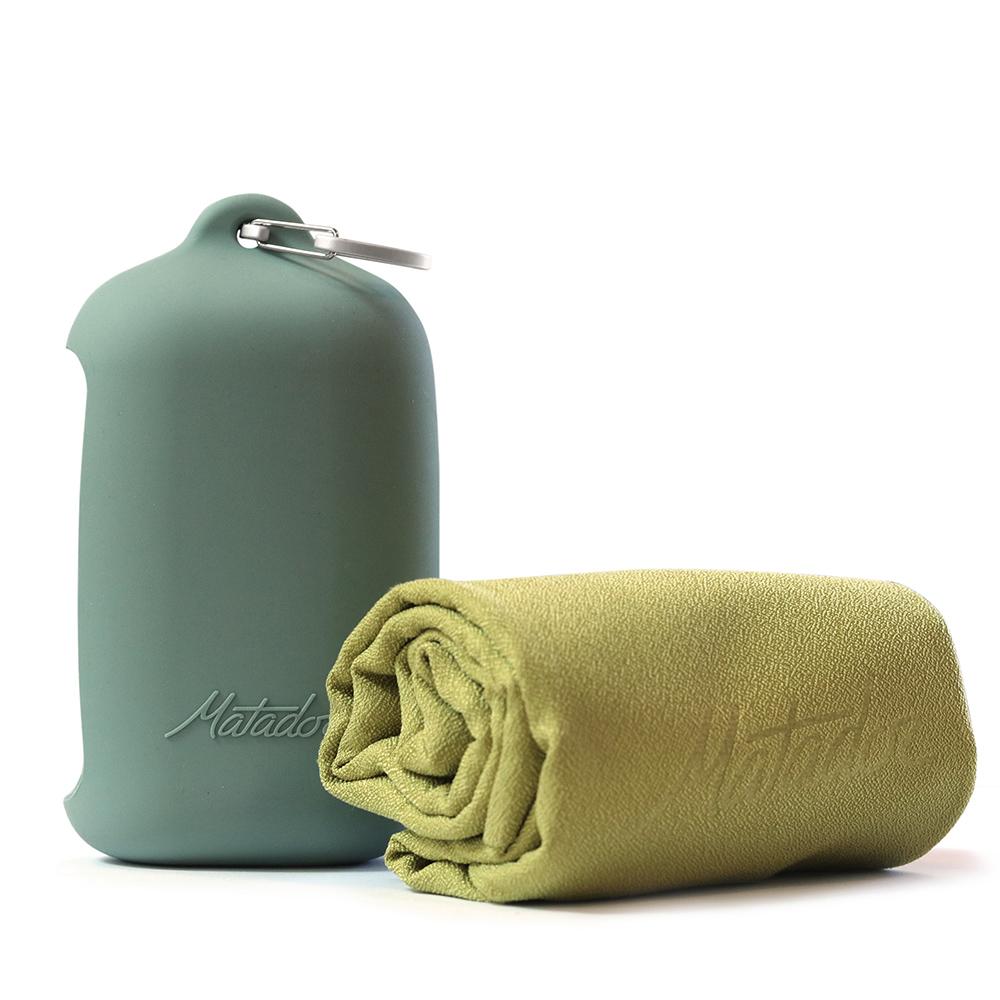 Matador NanoDry Trek Towel 口袋型奈米快乾毛巾(L)- 黃色