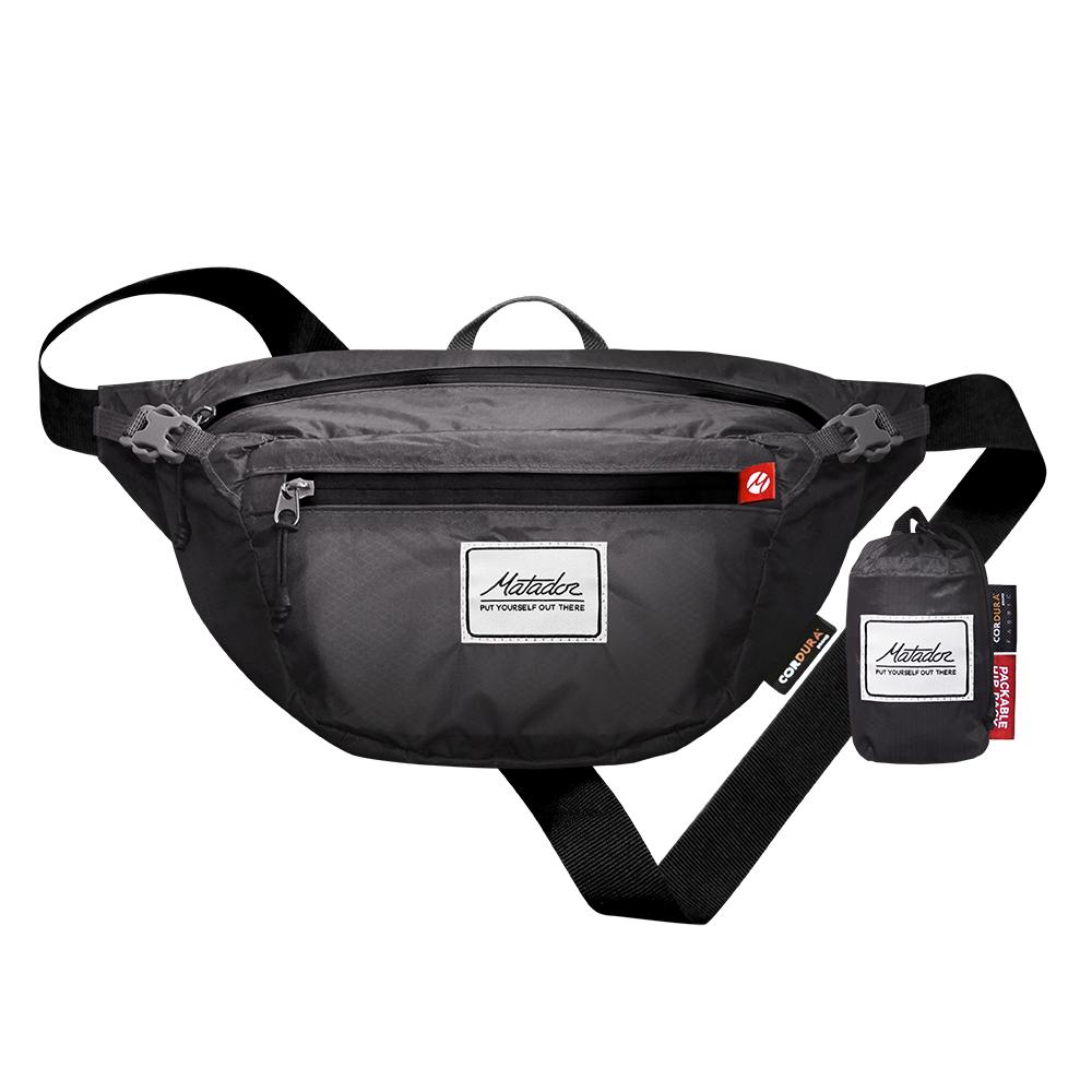 Matador|鬥牛士DayLite Packable Hip Pack 防水旅行腰包 - 灰色