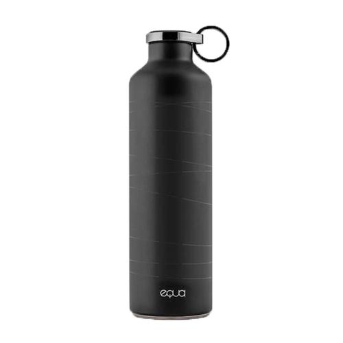 EQUA|歐洲極簡奢華保溫瓶(時軌黑)