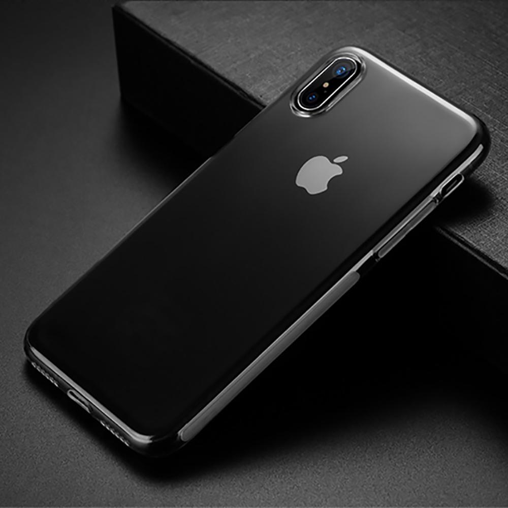 MOGUU|iPhone X 高清透明軟殼手機殼