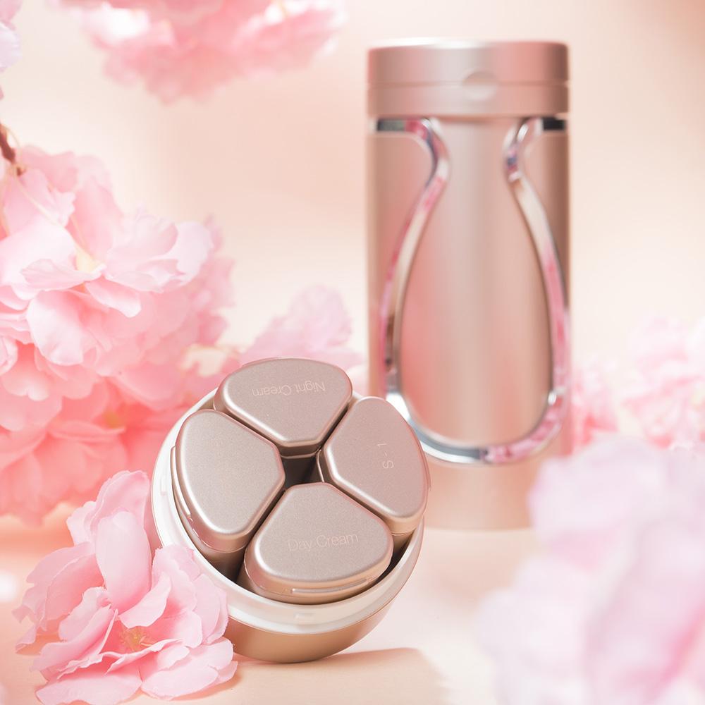 Tic design|旅行分裝收納瓶(保養組)- 蜜糖粉