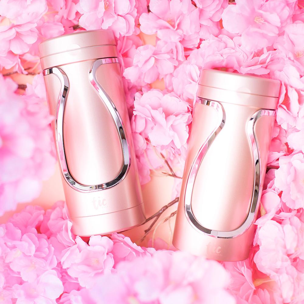 Tic design|旅行分裝收納瓶(沐浴+保養)豪華組 - 蜜糖粉