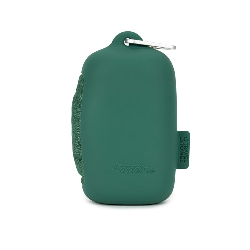 Matador|NanoDry Trek Towel 口袋型奈米快乾毛巾(L)-綠