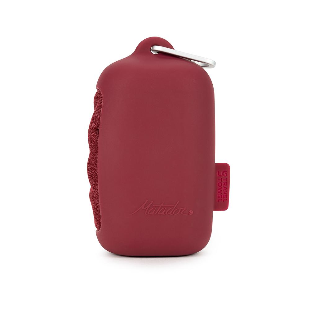 Matador|NanoDry Trek Towel 口袋型奈米快乾毛巾(L)-紅
