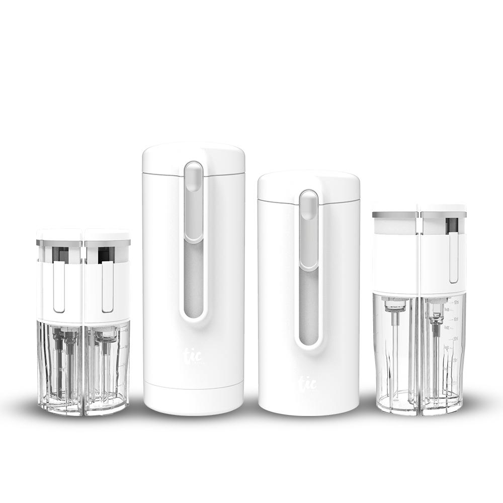 TIC DESIGN| 旅行分裝收納瓶 V2.0 - (沐浴+保養) 豪華組精選套裝