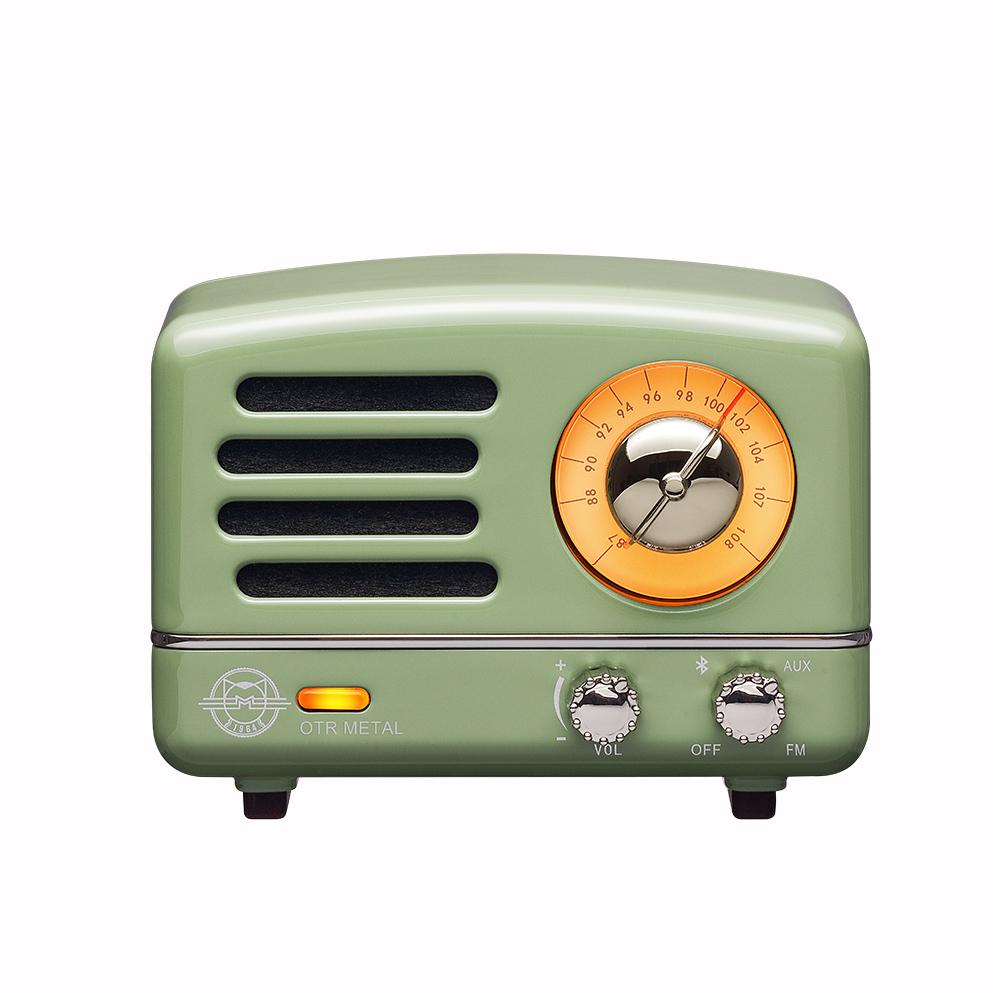 MUZEN  OTR Metal 經典復刻藍牙音響收音機(經典版)-科隆綠