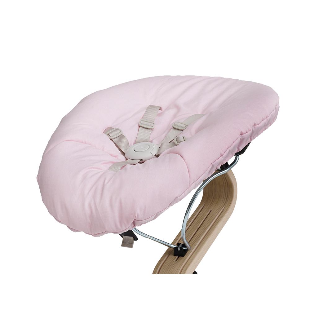 Nomi|丹麥嬰兒躺椅組合包-淺粉/米白