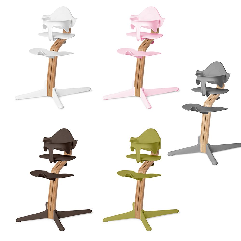 Nomi|丹麥多階段兒童成長學習調節椅超值組-灰