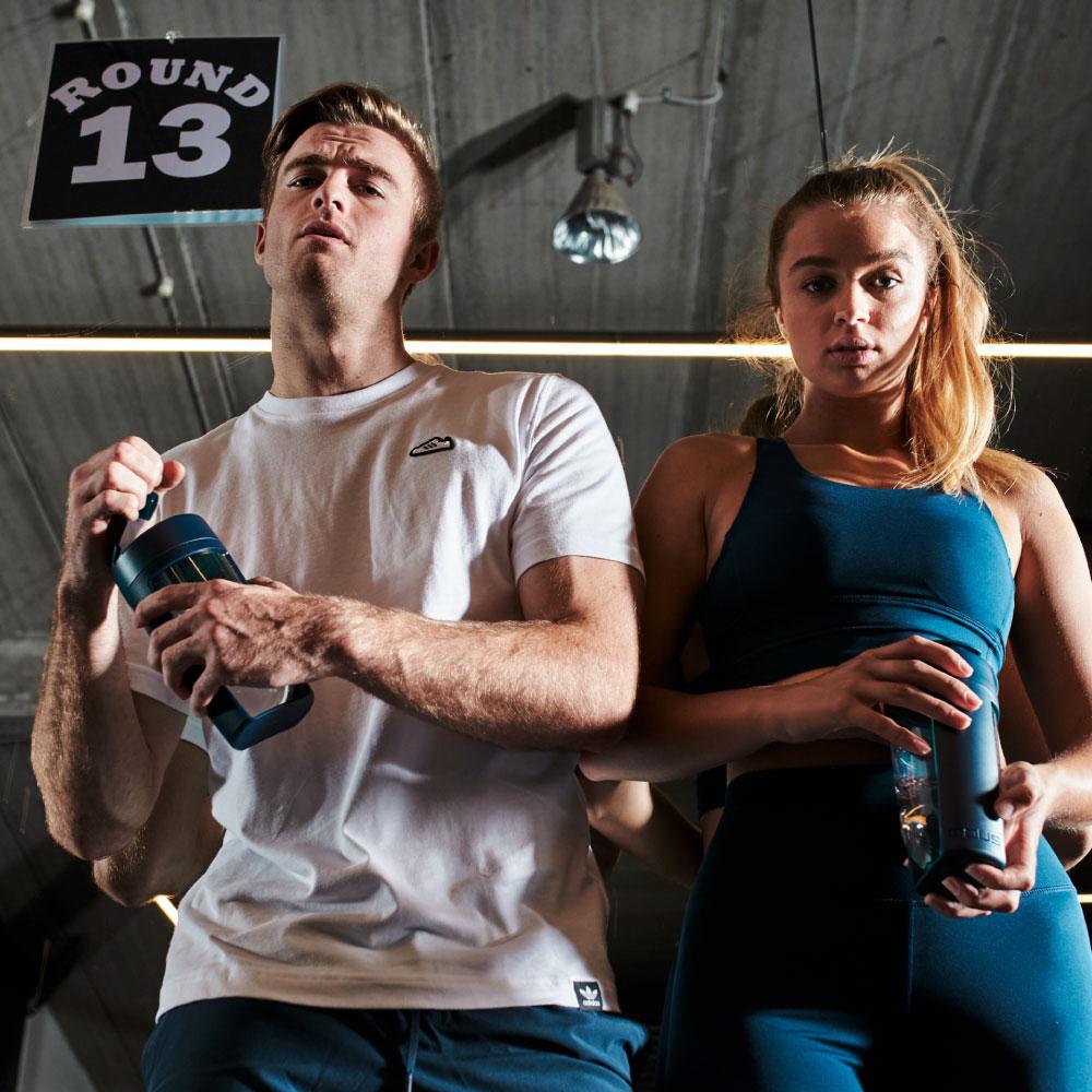 澳洲 MOUS|Fitness 運動健身搖搖杯-海軍藍