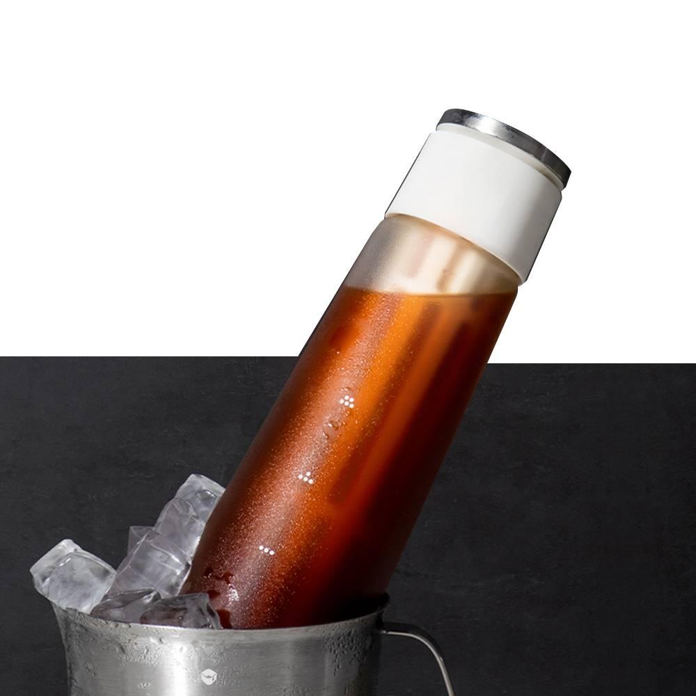 TIMEMORE 泰摩 冷泡咖啡冰錐瓶600ml-白(冷泡壺/冷泡茶/冷泡瓶)