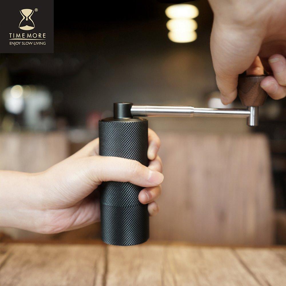 TIMEMORE|泰摩栗子NANO摺疊便攜式手搖磨豆機