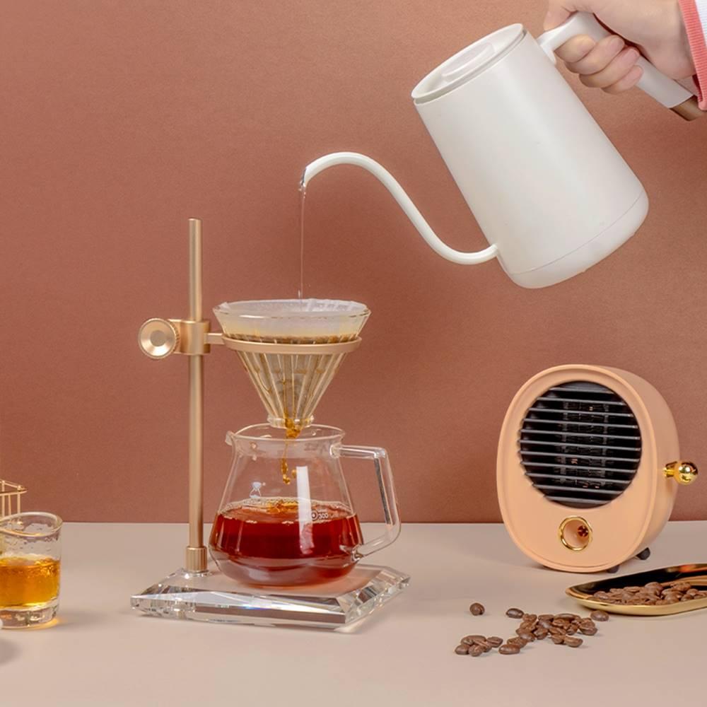 TIMEMORE 泰摩|MUSE木思水晶咖啡手沖架-金色