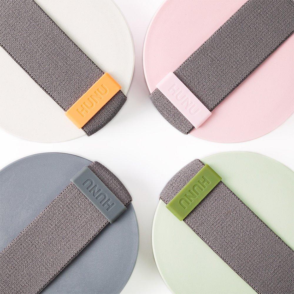 HUNU 環保摺疊口袋杯-柔粉