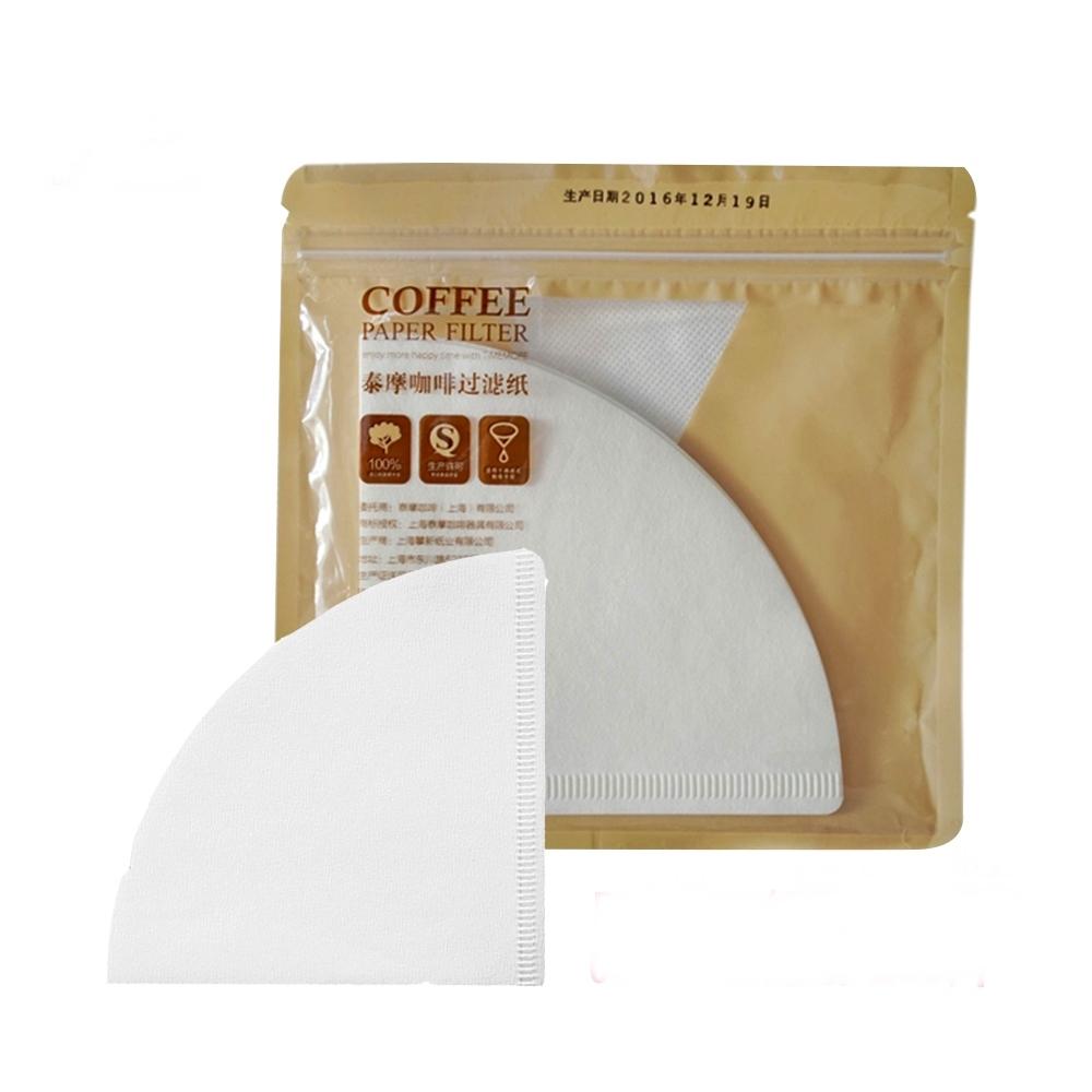 TIMEMORE 泰摩|淨白型咖啡濾紙-100張(02號 V形濾紙)