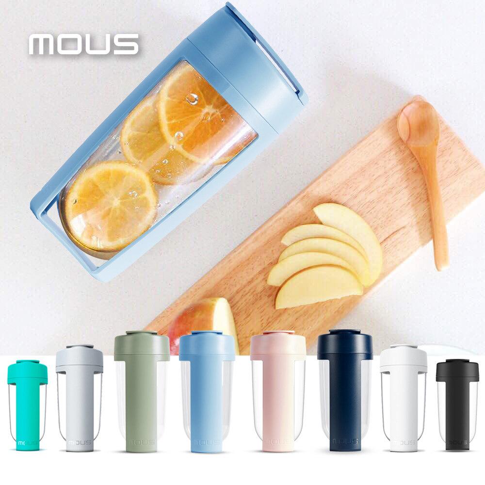 澳洲 MOUS Fitness 運動健身搖搖杯-嫣波藍