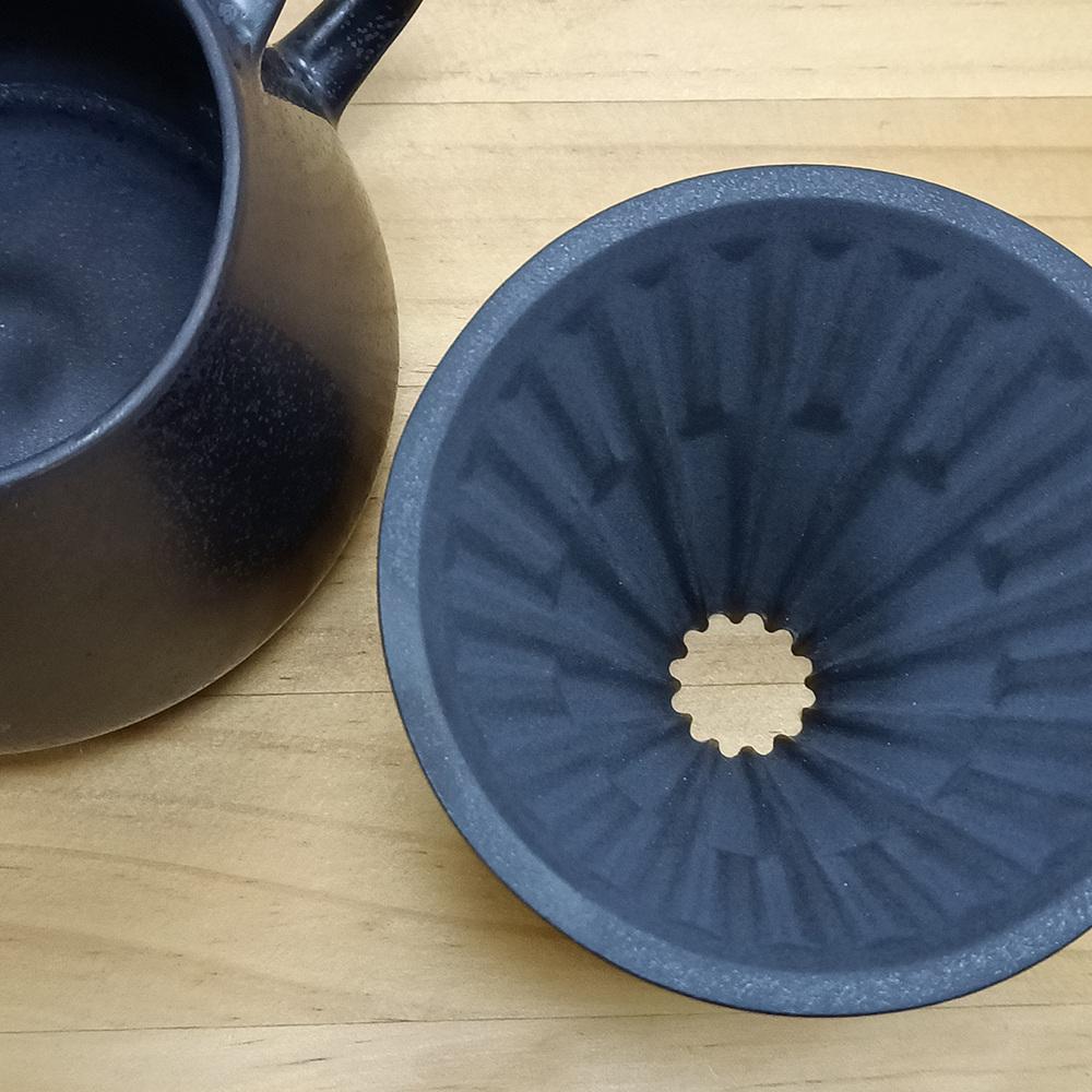 TIMEMORE 泰摩 陶瓷冰瞳濾杯01號(含底座)-金剛黑