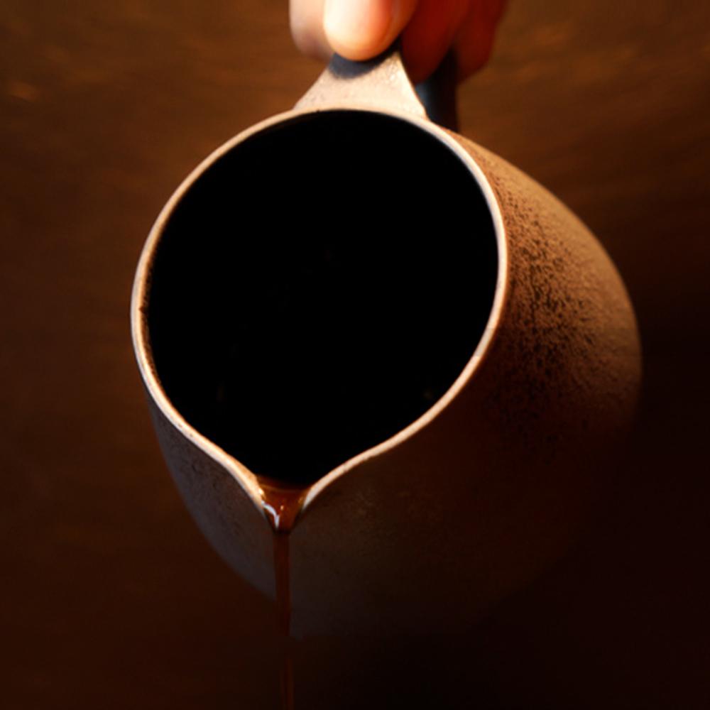 TIMEMORE 泰摩|天目手沖咖啡陶瓷分享壺-玄武黑
