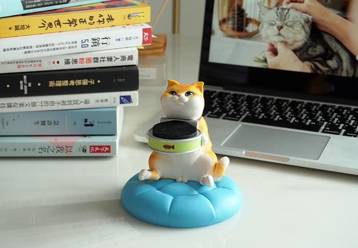 【集購】FIBER|貪吃小貓療癒錶座