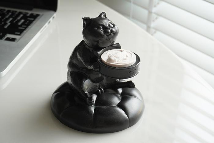 (複製)FIBER WATCH 貪吃小貓療癒錶座-(小灰斑)