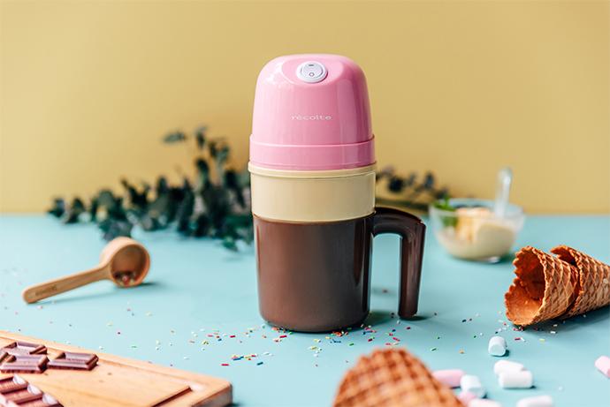 recolte 日本麗克特|Ice Cream 迷你冰淇淋機RIM-1