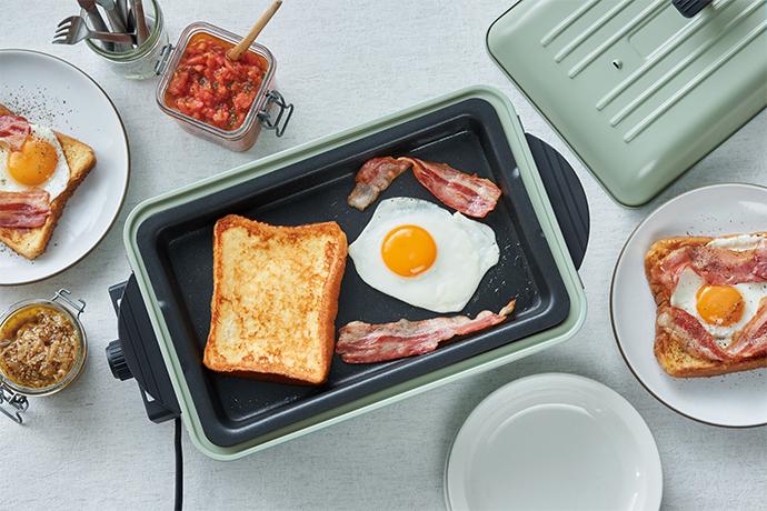 (複製)recolte日本麗克特|Home BBQ 電烤盤 牡蠣白