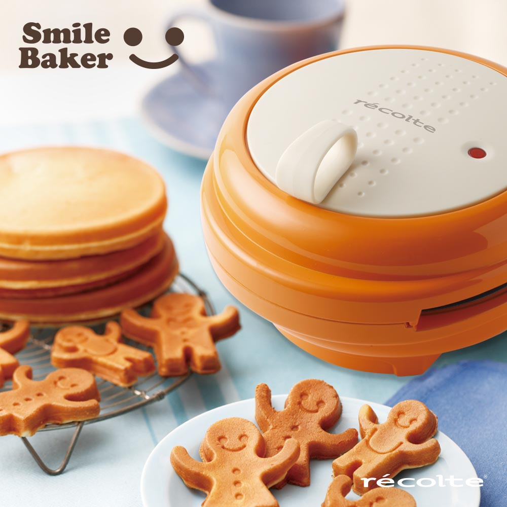 recolte日本麗克特|smile baker 微笑鬆餅機甜心