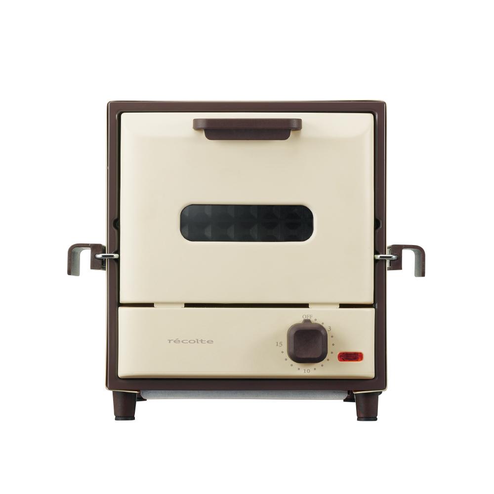 recolte日本麗克特|Delicat電烤箱(簡約白)RSR-1(W)