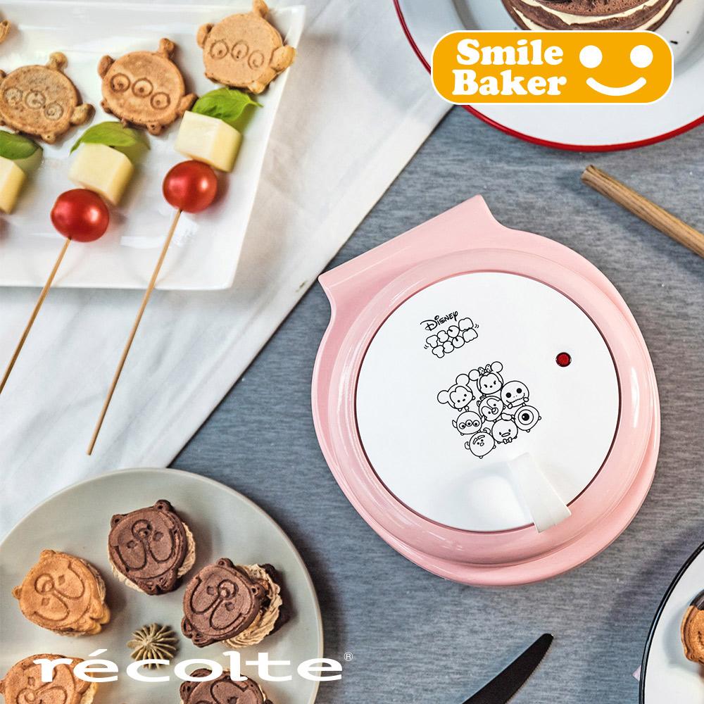 recolte 日本麗克特 Smile baker微笑鬆餅機Disney Tsum Tsum系列