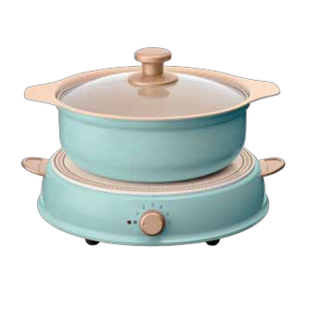 日本Iris | Ohyama ricopa IH料理電磁爐組(含陶瓷鍋)