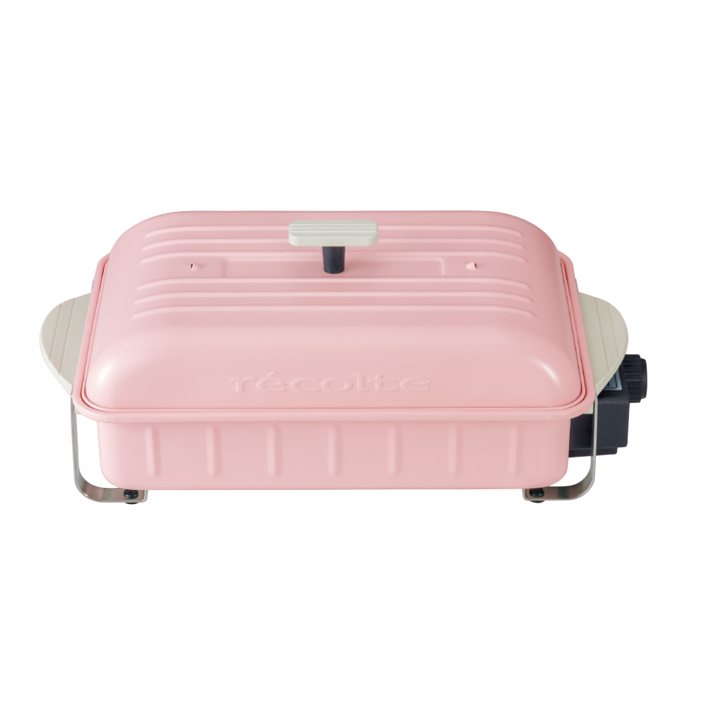 recolte日本麗克特|Home BBQ 電燒烤盤 櫻花粉限定款