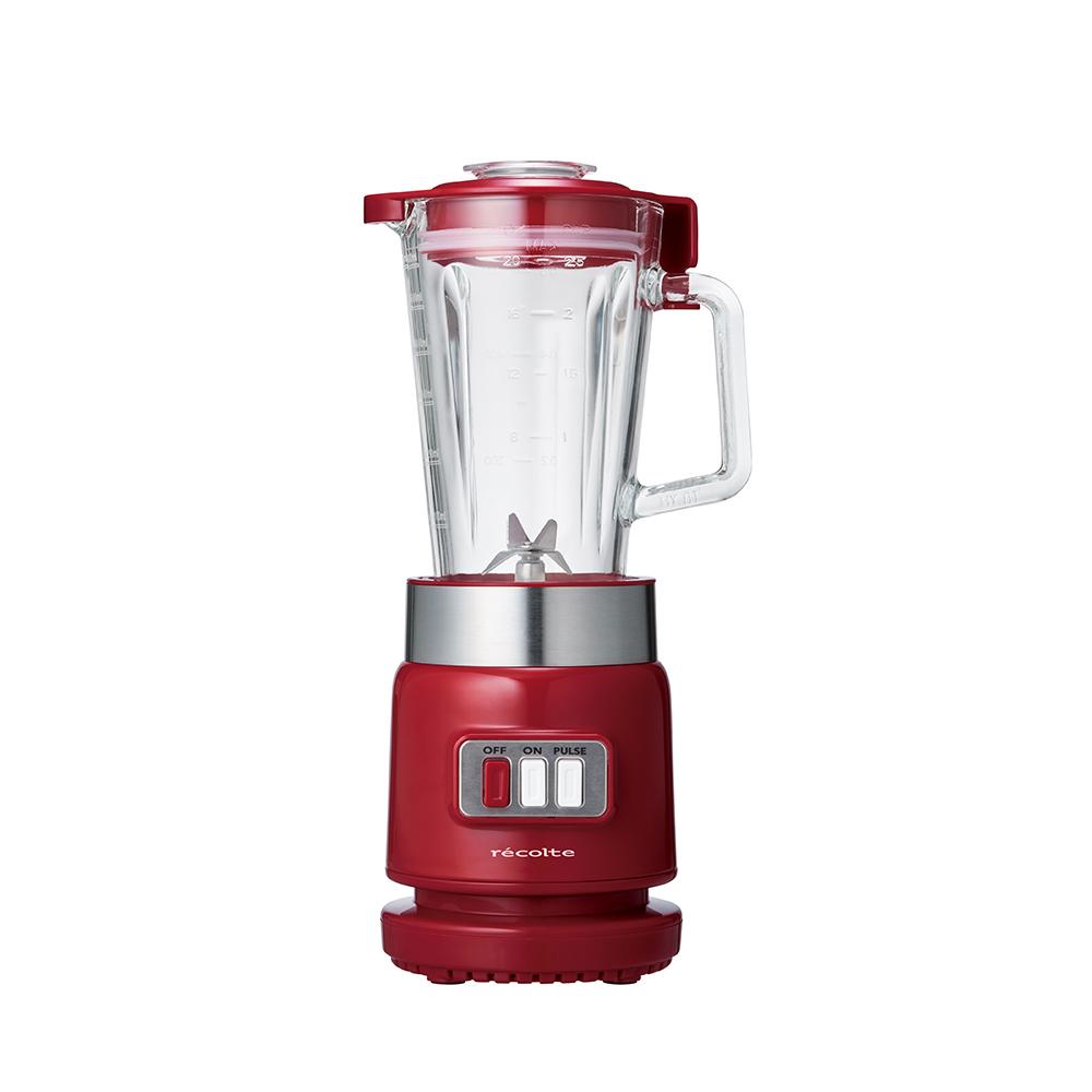 recolte日本麗克特|Glass Blender Rico 耐熱果汁機