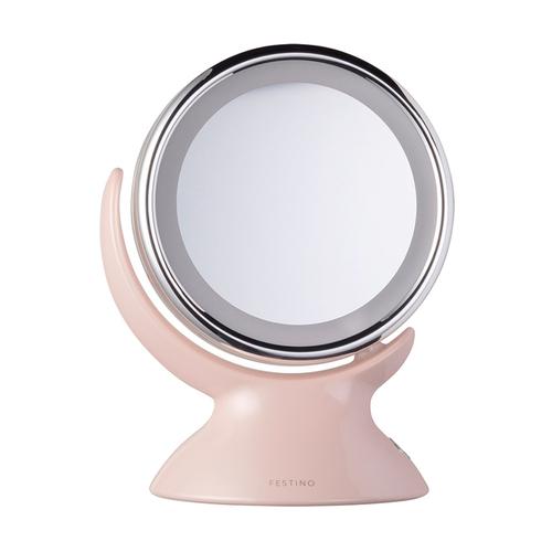 recolte日本麗克特|Festino雙面柔光化妝鏡