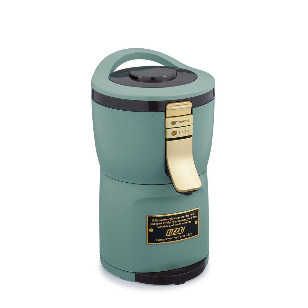 日本Toffy|Aroma 自動研磨咖啡機 K-CM7 板岩綠