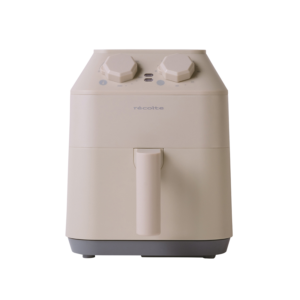 recolte日本麗克特 | Air Oven 氣炸鍋 奶油白
