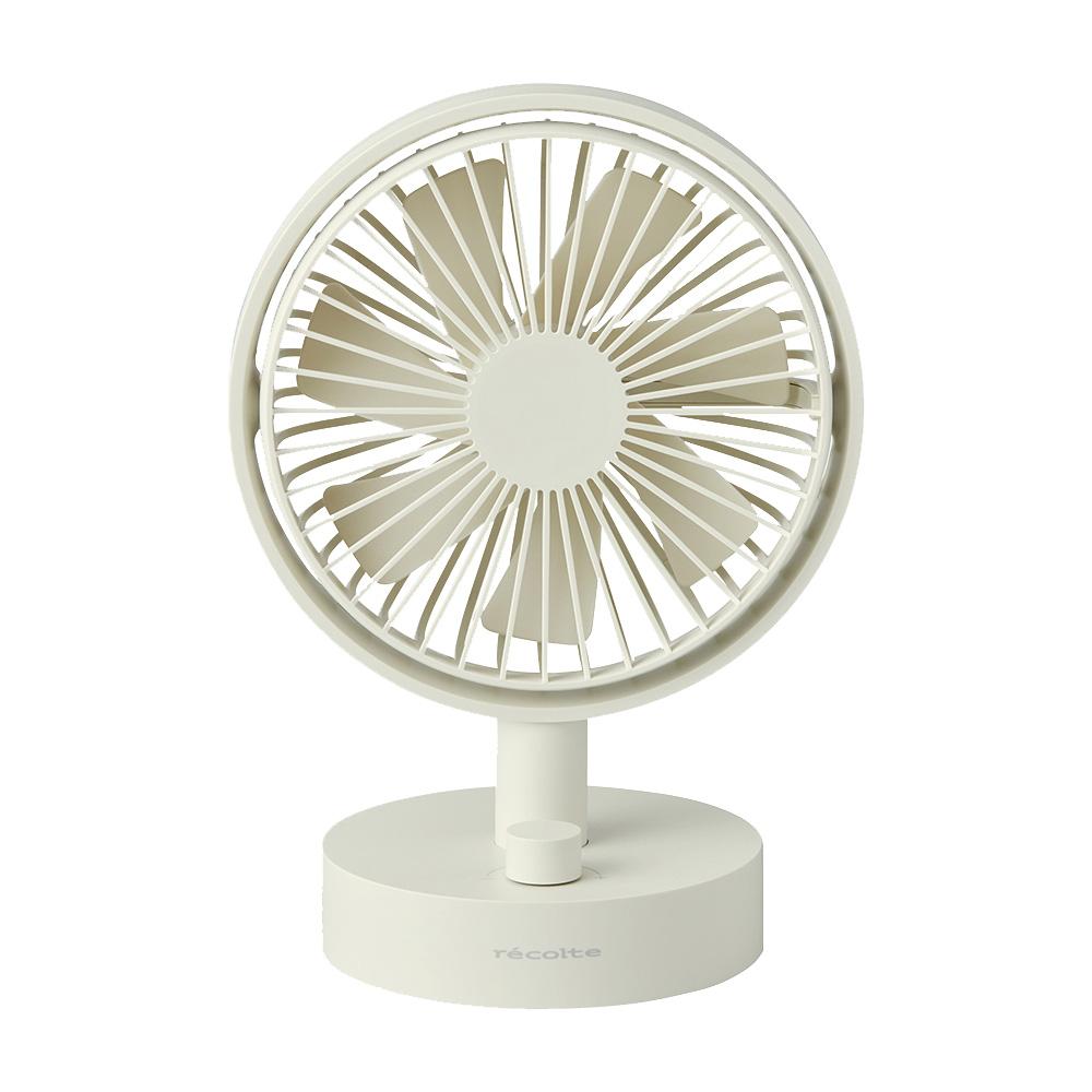 recolte日本麗克特|Cordless 桌上型電扇