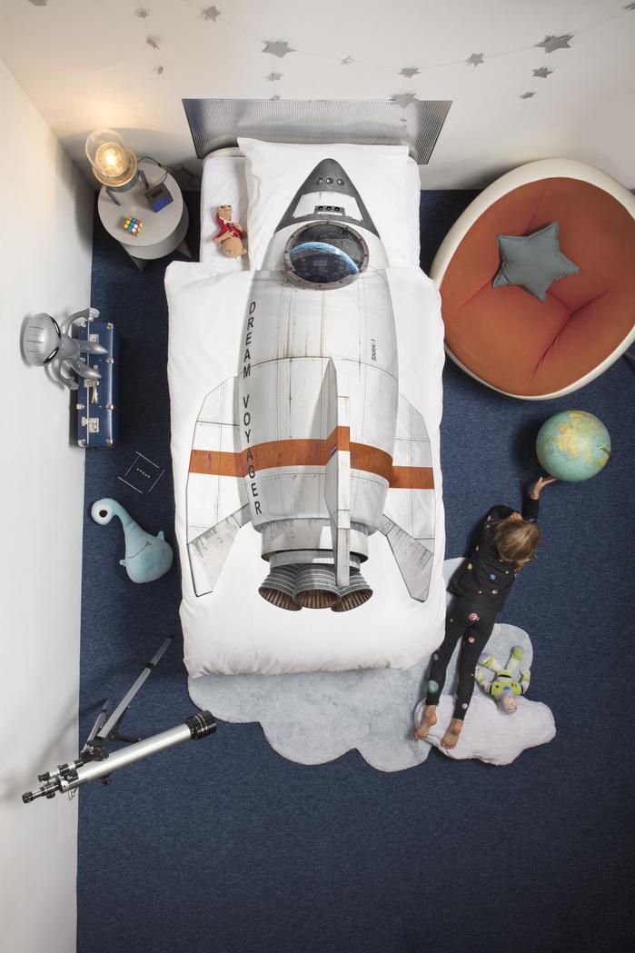 SNURK | 太空系列 枕套+被套組