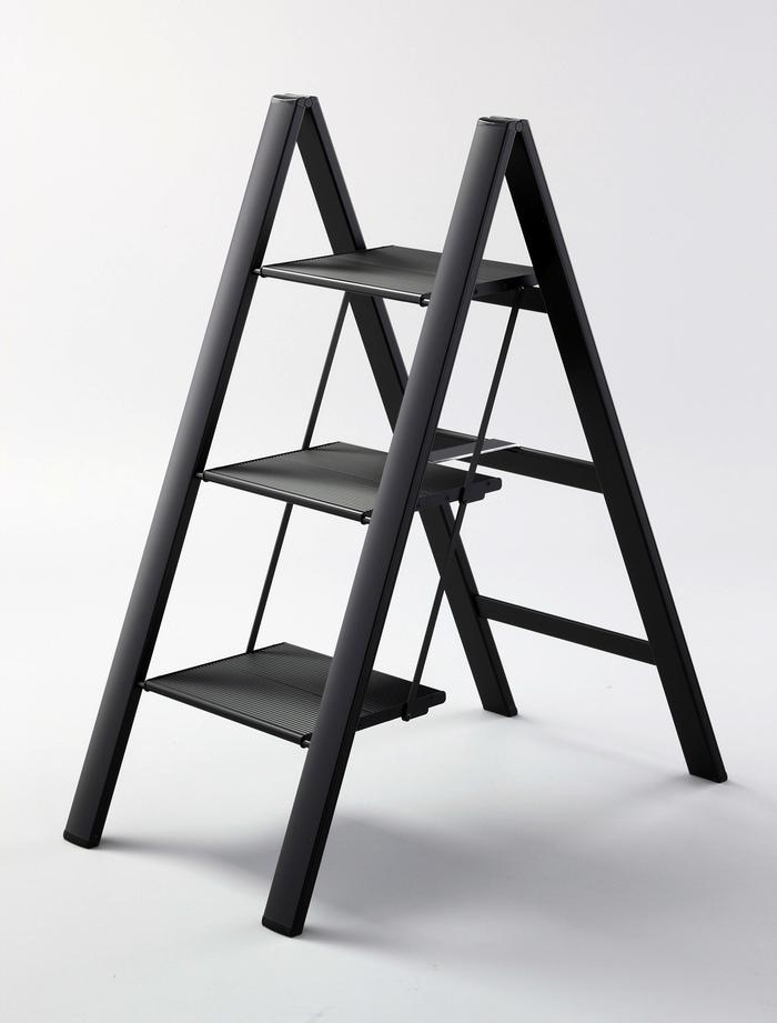 (複製)【長谷川Hasegawa設計好梯】SJ-8BA 設計踏台/工作梯(銀色)-3階(78cm)