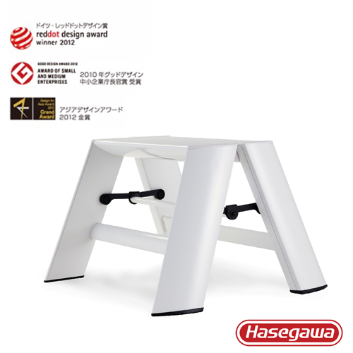 長谷川|Lucano設計傢俱梯 一階白色-1階(24cm)