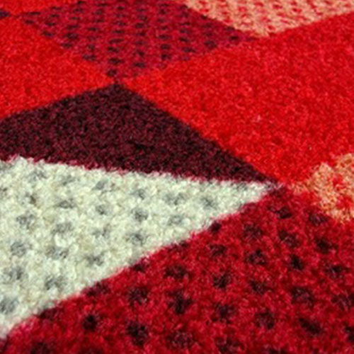 kleentex|居家設計地墊-Lumina reddish 75x120