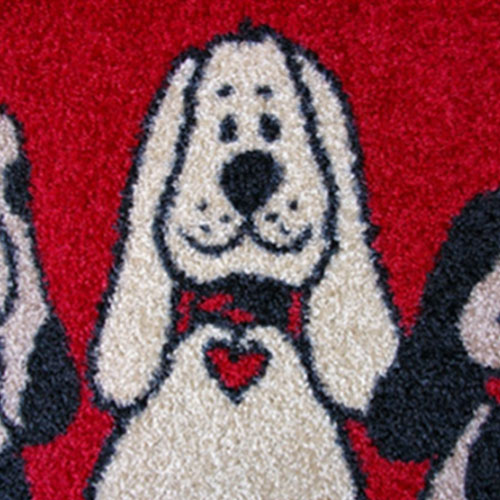 kleentex|居家設計地墊-Three dogs
