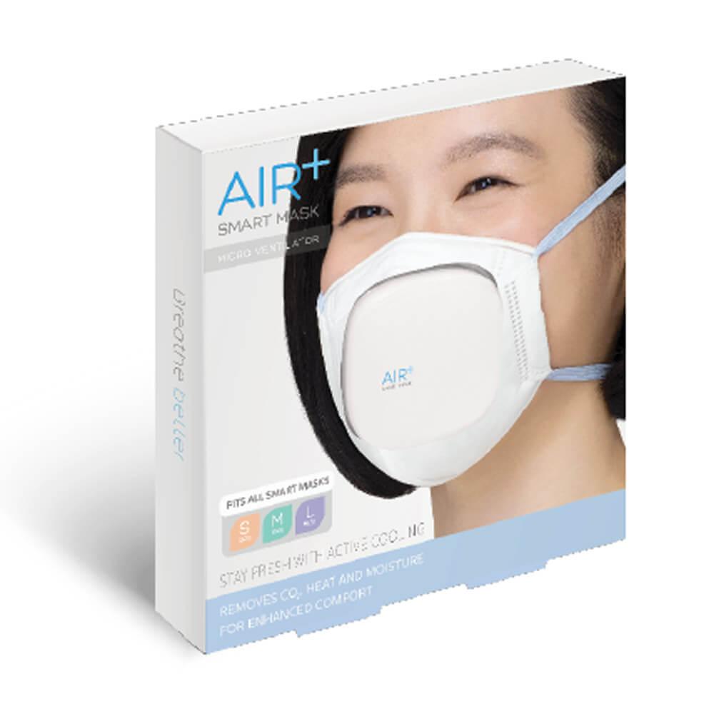 AIR+ |  氣益佳智慧型口罩10+1組風扇