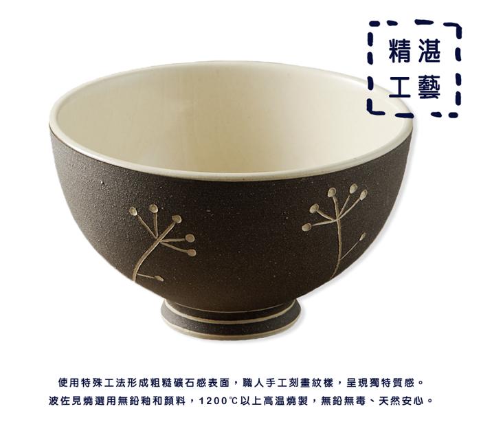 (複製)石丸波佐見燒| 手繪螺旋飯碗