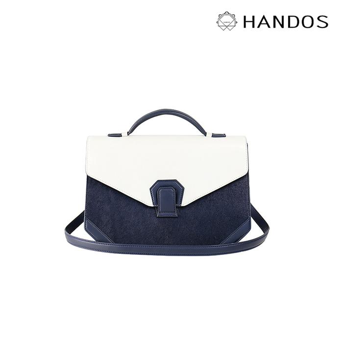 (複製)HANDOS| Melodica 二層風琴肩背包 - 沈靜藍 x 灰
