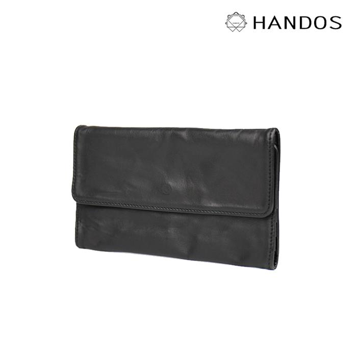(複製)HANDOS|輕便橫式短夾 - 藍