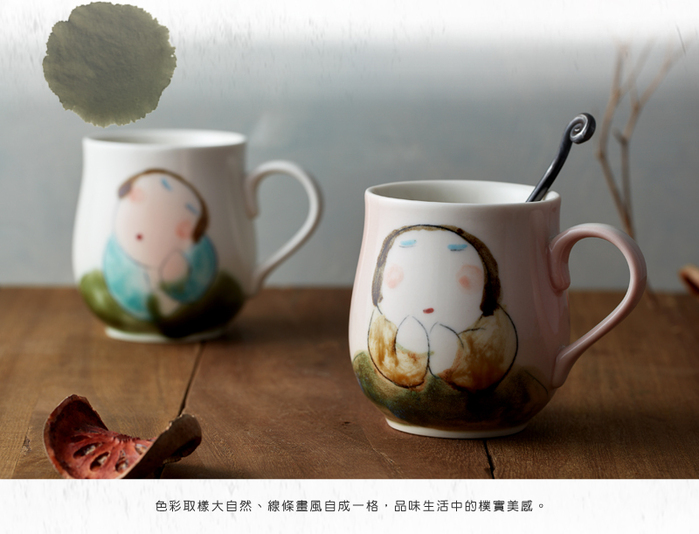 (複製)吳仲宗|胖太太系列 - 百合杯 - 玉潤珠圓 (雙件組)