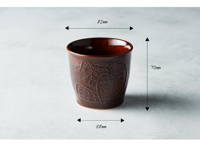(複製)石丸波佐見燒|森之歌陶杯 - 薄霧灰