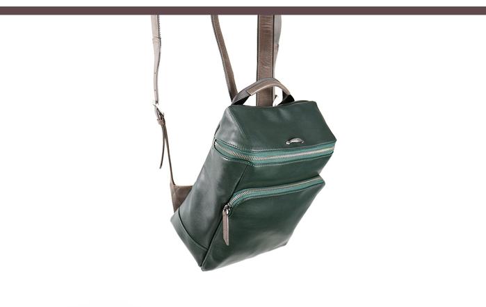 (複製)HANDOS|Cosmopolitan 輕巧羊皮時尚後背包 - 抹茶綠