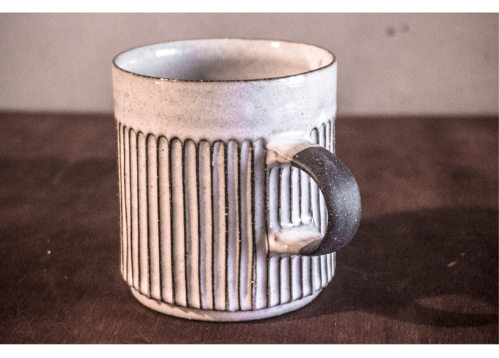 (複製)上作美器|無我系列 - 直紋馬克杯(250ml)