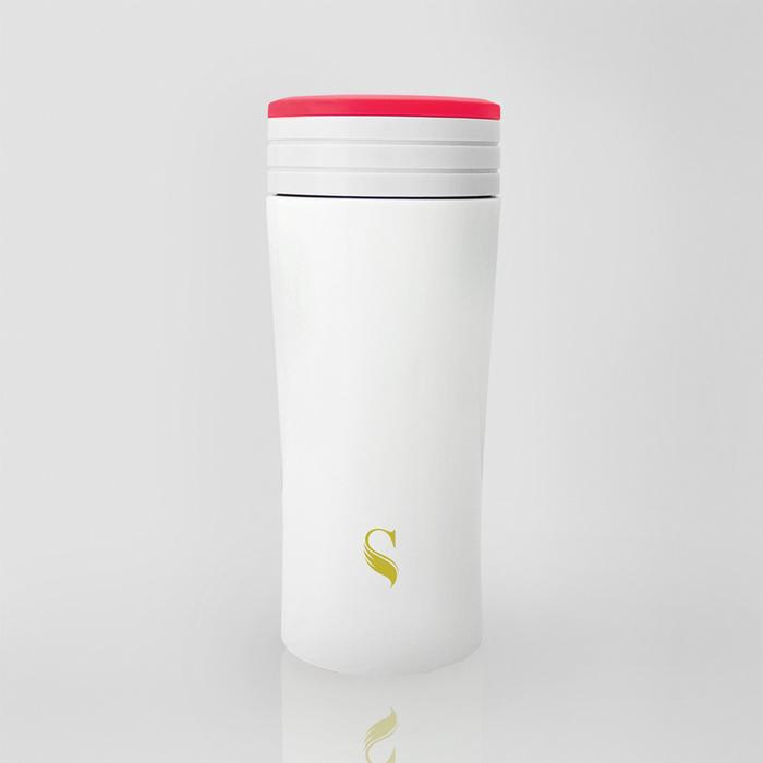 (複製)SWANZ|風格陶瓷保溫杯(2色)- 350ml (日本專利/品質保證) - 銅色