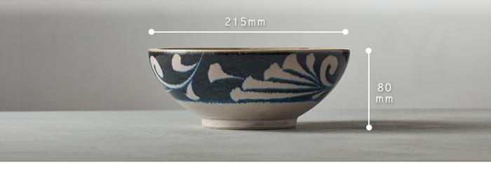 (複製)日本AWASAKA美濃燒|筆青釉繪小餐盤組(5件式)